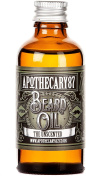 Apothecary 87, Conditioning Beard Oil for the Manliest of Man Beards, Made in England - Unscented, 50 Ml