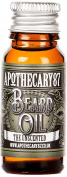 Apothecary 87, Conditioning Beard Oil for the Manliest of Man Beards, Made in England - Unscented, 10 Ml