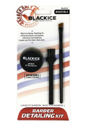 Black Ice Professional Barber Detailing Kit Black BDE01