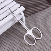 B-G Safety Nose Moustache Scissor Facial Nose Ear Hair Trimmer Eyebrow Scissors Stainless Steel A005