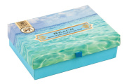 Michel Design Works Triple Milled Double Soap Box Set, Beach