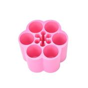 Daytingday Plum Shaped Acrylic Makeup Case Holder Cosmetic Organiser Lipstick Stand Holder