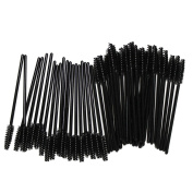 BTYMS 100PCS Disposable Eyeliner Makeup Brush Applicator Cosmetic Eye Wands