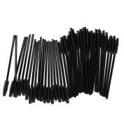 BTYMS 100PCS Disposable Eyeliner Makeup Brush Applicator Cosmetic Eye Wands