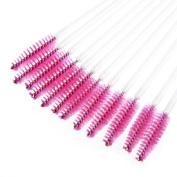 Creazy(TM) 50pcs Disposble Eyelash Brush Mascara Wands Makeup Cosmetic Tools