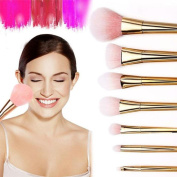 OVERMAL 2016 7Pcs Set Professional Brush High Brushes set Make Up Blush Brushes Makeup Brush