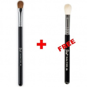 Bundle - Petal Beauty Large Shader makeup Brush + FREE $9 Value Eye Blending Brush