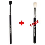 Bundle - Petal Beauty Round Tip Tapered Blending makeup Brush + FREE $9 Value Blending Brush