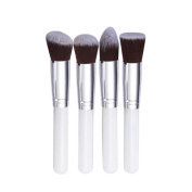 Sunward(TM) 4 Pcs Synthetic Kabuki Flat Foundation Brush Makeup Brushes