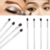 Sunward(TM) 4Pcs Makeup Tool Eyeshadow Foundation Blending Brush Set