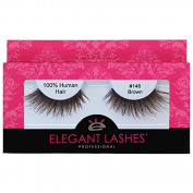 Elegant Lashes #148 Brown Thick Double-Layer Criss-Cross False Eyelashes