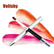 Velishy(TM) 1 Pcs Portable Smooth Retractable Lipstick Gloss Lip Brush