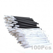 KLOUD City®100 Pcs Disposable MakeUp Lip Brush/Lipstick Gloss Wands Applicator/Make Up Tool