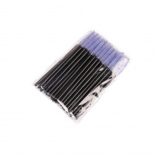 Docolor 50Pcs Disposable Eyelash Mascara Brushes Wands Applicator Makeup Brush Kits