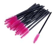 MERSUII 50 PCS Disposable Eyelash Eye Lash Makeup Brush Mascara Wands Applicator Makeup Kits
