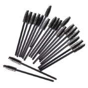 ieasysexy Disposable Wands Mascara Brushes Mini Makeup Spoolers Eyelash Extension .  Eyelash Brush Applicator Set