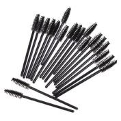 ieasysexy Disposable Wands Mascara Brushes Mini Makeup Spoolers Eyelash Extension .  Eyelash Brush Applicator Set
