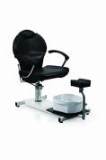 Eastmagic Pedicure Station Hydraulic Chair & Massage Foot Spa Beauty Salon Equipment