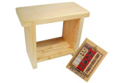 Hinoki Pure Wood Bath Stool