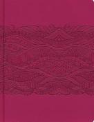 Rvr 1960 Biblia de Apuntes, Edicion Ilustrada, Simil Piel Rosado [Spanish]