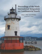 Proceedings of the Ninth International Symposium on Combinatorial Search