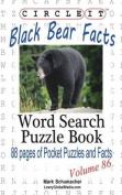Circle It, Black Bear Facts, Word Search, Puzzle Book