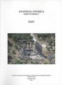 Anatolia Antiqua XXIV / Eski Anadolu XXIV [FRE]
