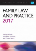 Family Law and Practice: 2017