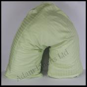 Adamlinens 100% Cotton V-Pillow Case Satin Stripe 250 thread count
