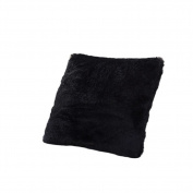 EXIU Washable Soft Long Plush Cushion Zipper Lock Solid Pillow Case 43*43cm