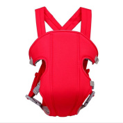 Hip Seat Baby Carrier - Advanced Lumbar Support 3 Position , red