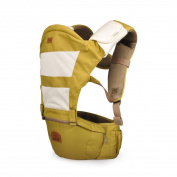 Hip Seat Baby Carrier - Advanced Lumbar Support 6-in-1 ( 6 Position ) , lemon