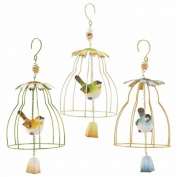 Art Deco Home - Decorative hanging Mobile Birds Assorted (1 unit) 45 cm