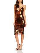 Boohoo Women's Amelia Metallic Dress