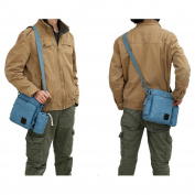 MeCooler Men's Canvas Shoulder for Travel Messenger Crossbody Outdoor Sports Over Shoulder Military Overnight Casual Cross Body Side Gym Pack Bag