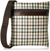 Daks London Messenger Bag Multicolor/Coffee