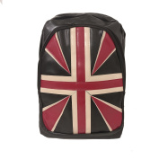 [UK SELLER] Retro Union Jack Design Canvas Backpack Shoulder Travel Bag Rucksack Lightweight Cute Pattern Canvas Backpack Young Girls School for Women