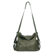 Vilenca Holland Women's 40788 OliveGrün Cross-Body Bag Olive Green L43 x H42 x B13 cm