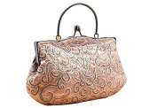 Whoinshop Women's Embroidered Handbag Seed Beading Clutch Party Purse Wedding Evening Bag