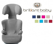 BriljantBaby ** Soft Terry Car Seat Replacement Cover / Protection for Car Seat Cover Group 2/3 + ( like Maxi Cosi RODI / Römer Kid and other **