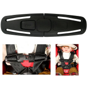 La Derkia Car Baby Safety Seat Strap Belt Harness Chest Child Clip Buckle Latch Nylon, Lock Tite Harness Clip