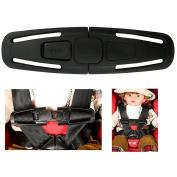 La Derkia Car Baby Safety Seat Strap Belt Harness Chest Child Clip Buckle Latch Nylon, Lock Tite Harness Clip