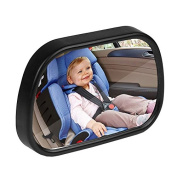 ONEVER Baby Car Mirror Wide View Angle Adjustable Backseat Monitor for Child Front View Mirror Safety Wide View