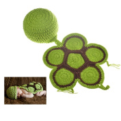 Fast-Flying NewBorn Baby Party Costume Kids Photography Crochet Knitted Prop Baby Clothes Hats and Tortoise Outfits