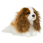 Anna Club Plush King Charles Spaniel Soft Toy - 26cm