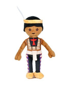 PLAYMOBIL - Plush toy Indian 30cm - Quality super soft