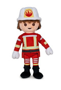 PLAYMOBIL - Plush toy Fireman 30cm - Quality super soft