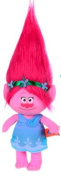 "Trolls - Plush toy princess Poppy 14""/37cm, pink hair - Quality super soft"