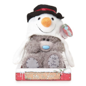 18cm Wearing Snowman Hat Me to You Bear