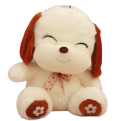 Finer Shop Cute Lovely Happy Dog Toy Big Cute Dog Doll for Baby Kids Girlfriend Romantic Gift 85cm